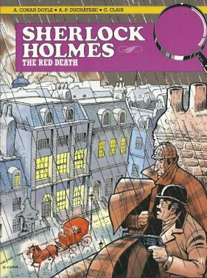 Red Death: Sherlock Holmes Comic Album by Doyle, Sir Arthur Conan Paperback The