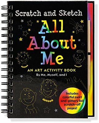 Scratch & Sketch All About Me (Scratch and Sketch) by Lee Neemers Book The Cheap