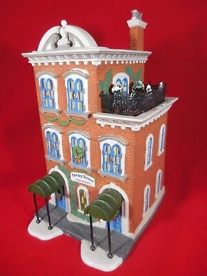 Dept 56 Christmas in the City Series IVY TERRACE APARTMENTS - Illuminated