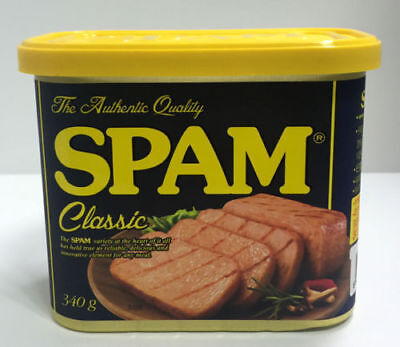 CJ SPAM Ham Classic 340g Meat PORK with Pure Salt The Authentic Quality_V