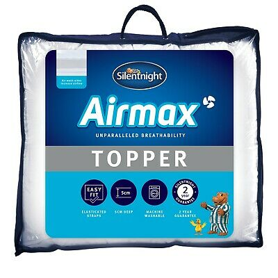 Silentnight Airmax Mattress Topper - Single Double or King Size