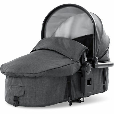 New Hauck Melange Charcoal 2Nd Duett 3 Baby Carrycot From Birth