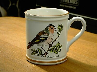 Vintage 70's / 80's Denby Chaffinch Mug In Very Good Condition FREE UK P&P