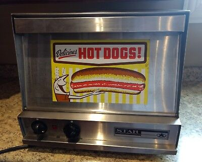 STAR COMMERCIAL HOT DOG AND BUN STEAMER -   Model 179