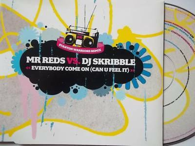 MR REDS VS DJ SKRIBBLE Everybody Come On (Can You Feel It) CD