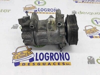 Compresor aire acondicionado CITROEN C4 BERLINA Exclusive 2004 9651910980 730077