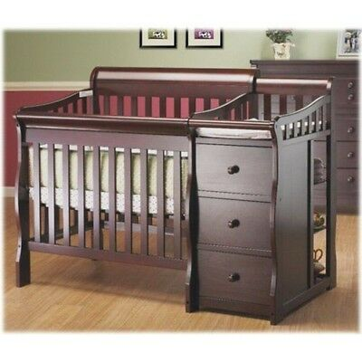 cribs wayfair sorelle changer color in gray elite and pin weathered tuscany princeton with convertible crib