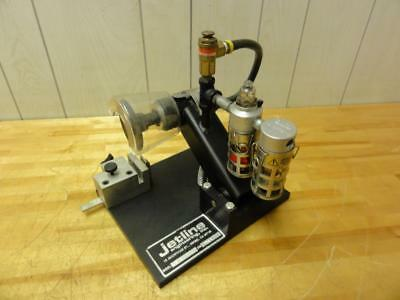 Jetline Engineering Pneumatic Cut-off Die Grinder with Tube Holder, TCO-2A