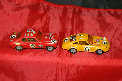 Capri Miniatures Jouef 2 Porsche 911s Anciens Rally Ford Jouets Voitures IYED29WH