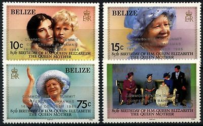 Belize 1985 SG#852-5 Commonwealth Heads Of Government MNH Set #D73652