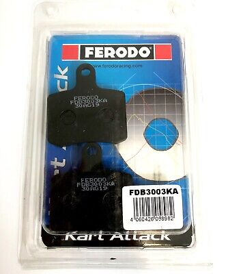 Ferodo Kart Attack TonyKart / OTK BSD Brake Pad Set 2017 To Date -  NEXTKARTING