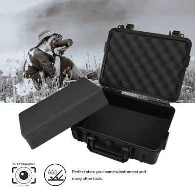 Waterproof Storage Hard Carry Cover Case Camera Photography Carrying Box Black