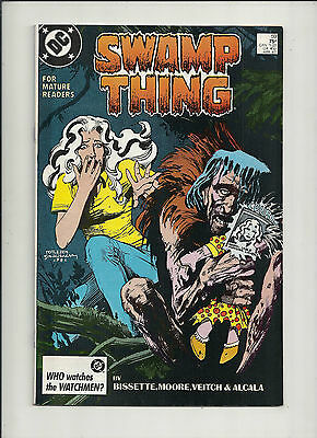 Swamp Thing  #59  NM-     Alan Moore