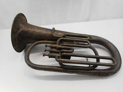 Antique Concertone Alto Horn ? Wall Art