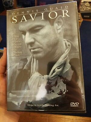 Savior (DVD, 1999) based on a true story. Brand new and sealed