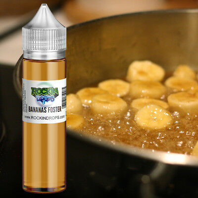 ROCKINDROPS Bananas Foster Food Flavor Flavoring Concentrate TFA 10ml 30ml 50ml