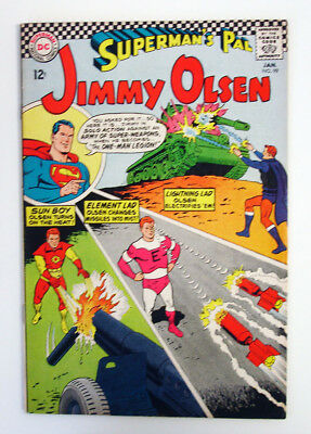 Superman's Pal Jimmy Olsen #99 1967 Silver Age DC Comic Swan -c Costanza -a