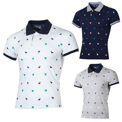 Men's Summer Casual Slim Short Sleeve T Shirt Top Blouse Fashion Personality Tee