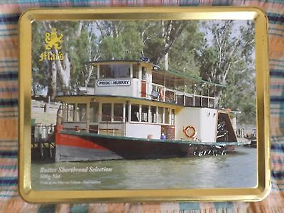 Mac's Shortbread Biscuit Tin - Pride of the Murray Echuca - 2nd Edition