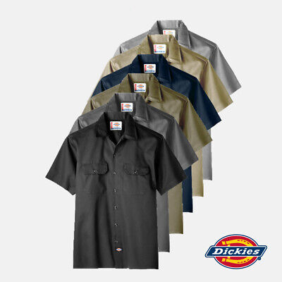 Dickies DK-1574 Short Sleeve Work Shirt (Free Express Shipping)