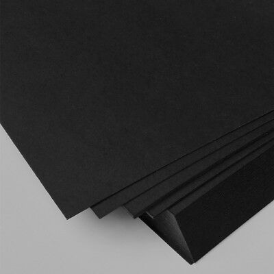 20 sheets A4 black cardboard cardstock 210gsm high quality. Aussie Stock/seller