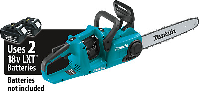 Brand New Makita Brushless Cordless Chainsaw 18V X 2 Xcu03Z Li-Ion Lxt