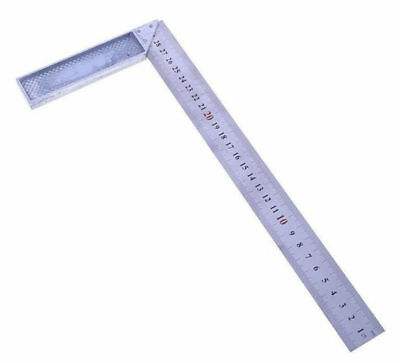 """12"""" Steel Engineers Machinist Try Square Set Right Angle Measure Woodwork Tool s"""