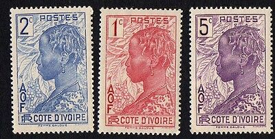Ivory Cost. 1936 -1938 The Ivory Coast. MLH