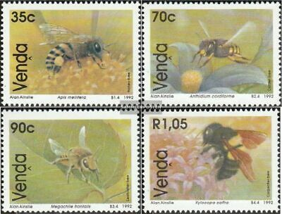 Animal Kingdom Venda Block8 Mint Never Hinged Mnh 1992 Bienenarten