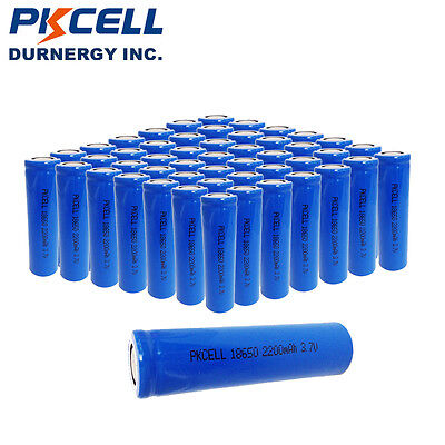 400 x Wholesale ICR 18650 Rechargeable Li-ion Battery 3.7V Genuine 2200mAh