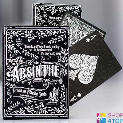 Ellusionist Absinthe Spielkarten Deck Magie Bicycle Tricks Uspcc Neu