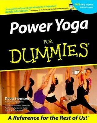 Power Yoga For Dummies by Swenson, Doug Paperback Book The Cheap Fast Free Post