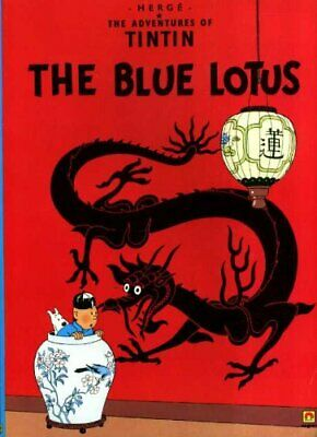 The Blue Lotus (The Adventures of Tintin) by Herg� Paperback Book The Cheap Fast