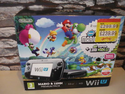 Nintendo Wii U Mario Bros Console Box Only*** (No Console / Outer Box Only)***