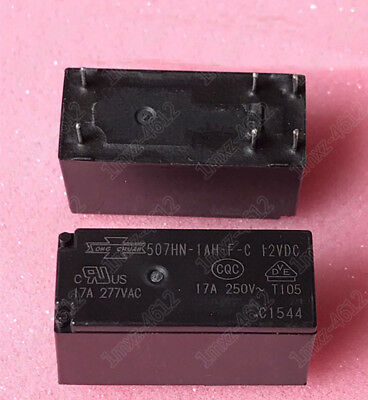 5pcs  new  relay   507HN-1AH-F-C 12VDC