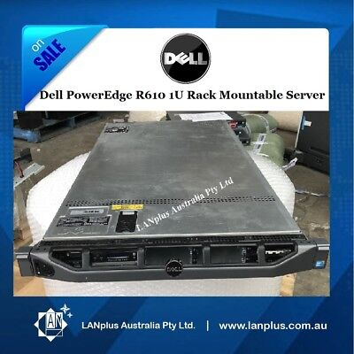 Dell PowerEdge R610 Server Xeon Hex Core 2.8Ghz X5660 8GB No SAS HDs