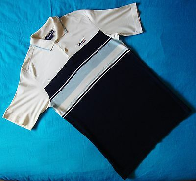 POLO T-SHIRT  vintage 80's ELLESSE  TG.46 - M circa  made in Italy  RARE