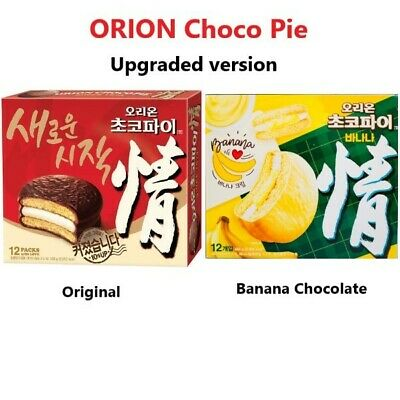 [Orion] The Best Korean Chocolate Snack CHOCO PIE 2,12,30packs, 5 Flavors