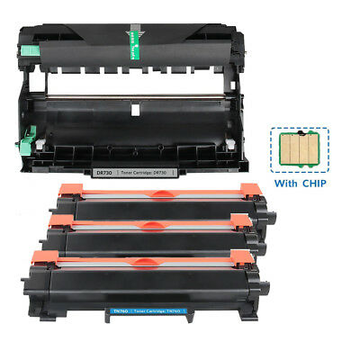 TN760 Toner Cartridge  DR730 Drum Set for Brother HL-L2350DW/L2370DW DCPL2550DW