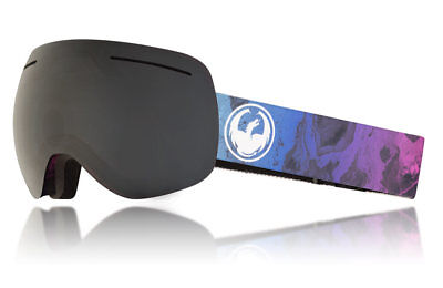 d14654bd88fd NEW Dragon Alliance X1 - Ink Snow UV Protected Goggles with Dark Smoke  Finish