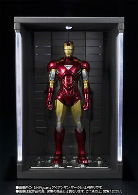 P Bandai S.H.Figuarts Avengers Iron Man Mark VII MK7 Figure+Hall of Armor Set SH