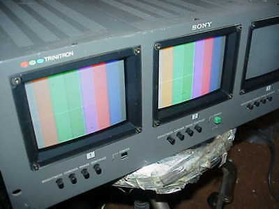 Triple Sony Color Monitors #Pvm-5310, Only Two Are Working, Nice Pictures--