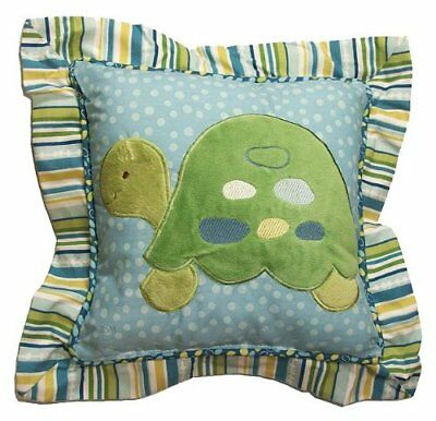 CoCaLo Baby Turtle Reef Decorative Pillow Beach Theme blue green