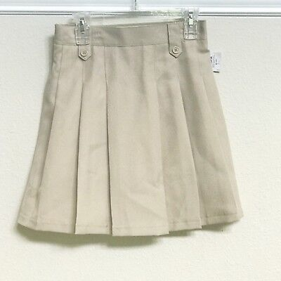 Izod Girls Uniform Skirt Pleated Skort NWT Size 12 Regular