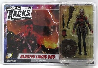 Vitruvian H.A.C.K.S. 200302 Blasted Lands Orc (Orc Ravager) Female Boss Fight