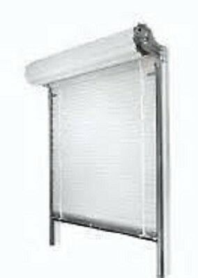 Insulated Roll Up Door 4'wide X 8'high FREE SHIPPING