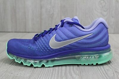 new concept b7492 46870 29 New Nike Air Max 2017 Running Shoes Women s Sz 7 8 Violet Purple 849560-