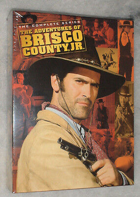 Adventures of Brisco County, Jr (Bruce Campbell) Complete DVD Box Set R2 SEALED