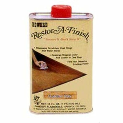 Howard's Restor-A-Finish 16oz. (1 pint) Mahogany RF016