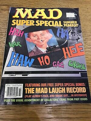 Mad Summer Special 1982 With Record